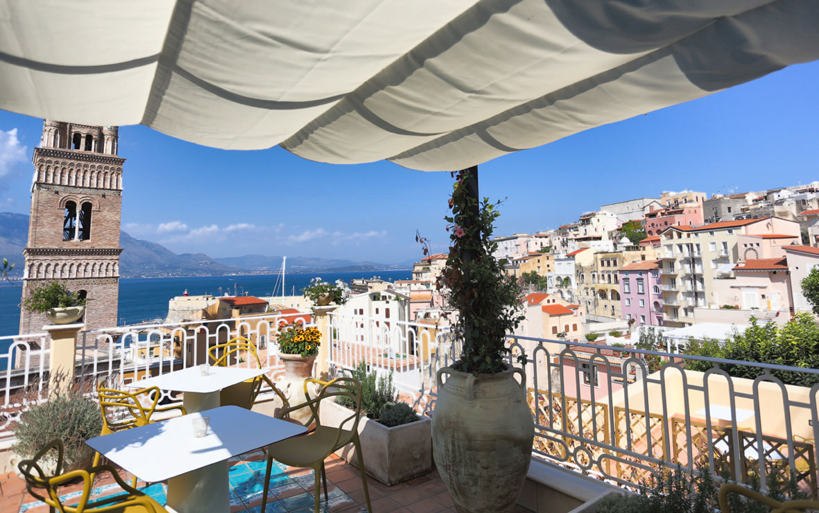 La terrazza del nostro bed and breakfast a Gaeta